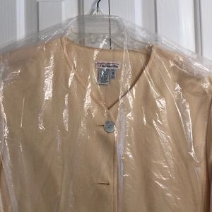 Talbots Jackets & Coats - Talbots size 18 pretty yellow jacket with pockets